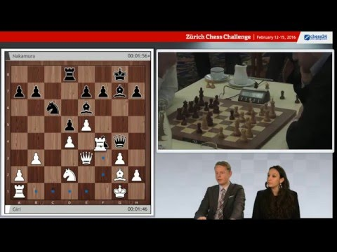 Zurich Chess Challenge Blitz, live commentary with Fiona and Jan