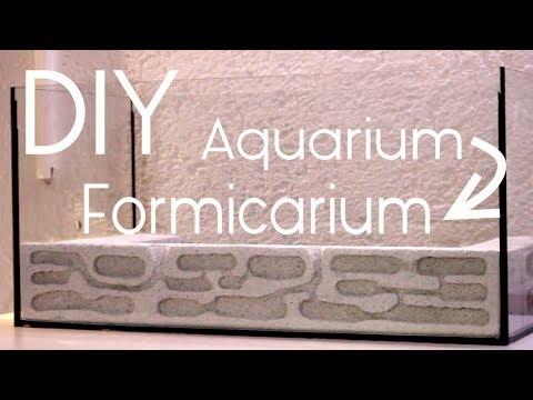 DIY - Aquarium to Formicarium Modification