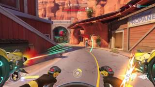 Overwatch - Is this easy mode? (41 Eliminations & 33 Player Kill Streak as D.Va in Quick Play)