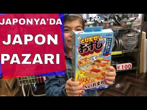 Japon Pazarı - Japonya'da Bir Alış Veriş Caddesi | Shopping Street