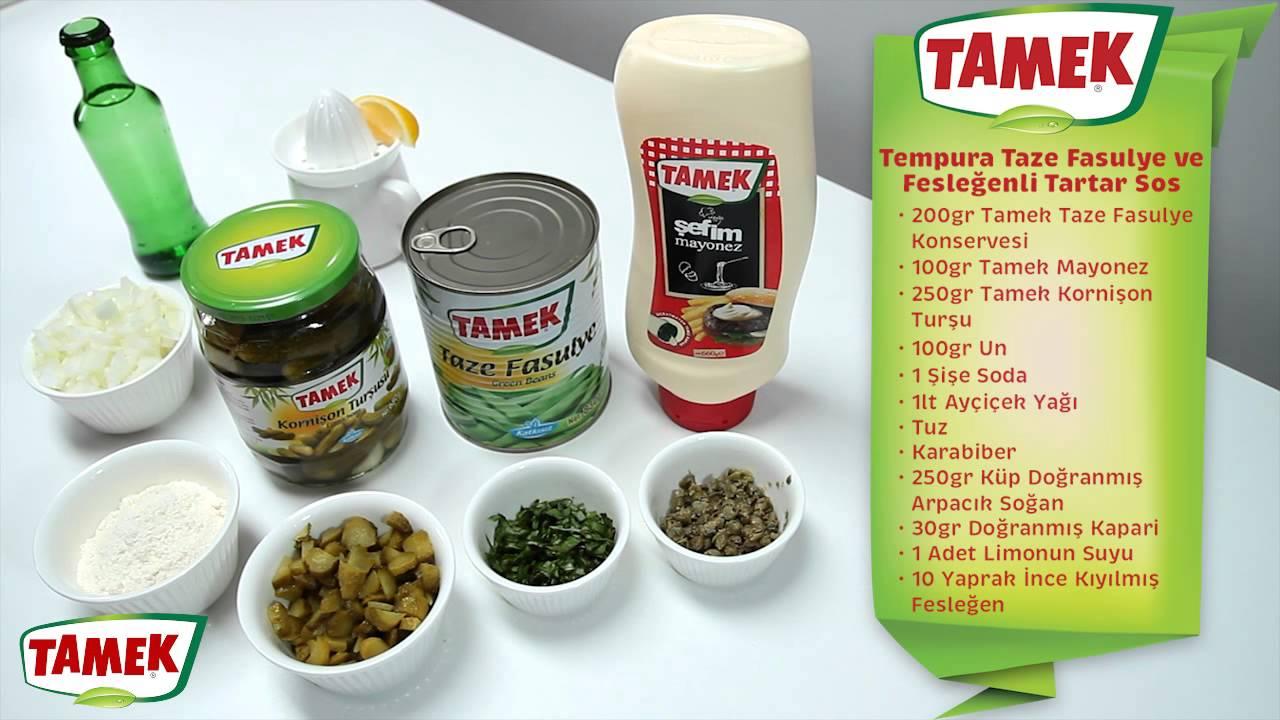Tatar Sosu Tarifi