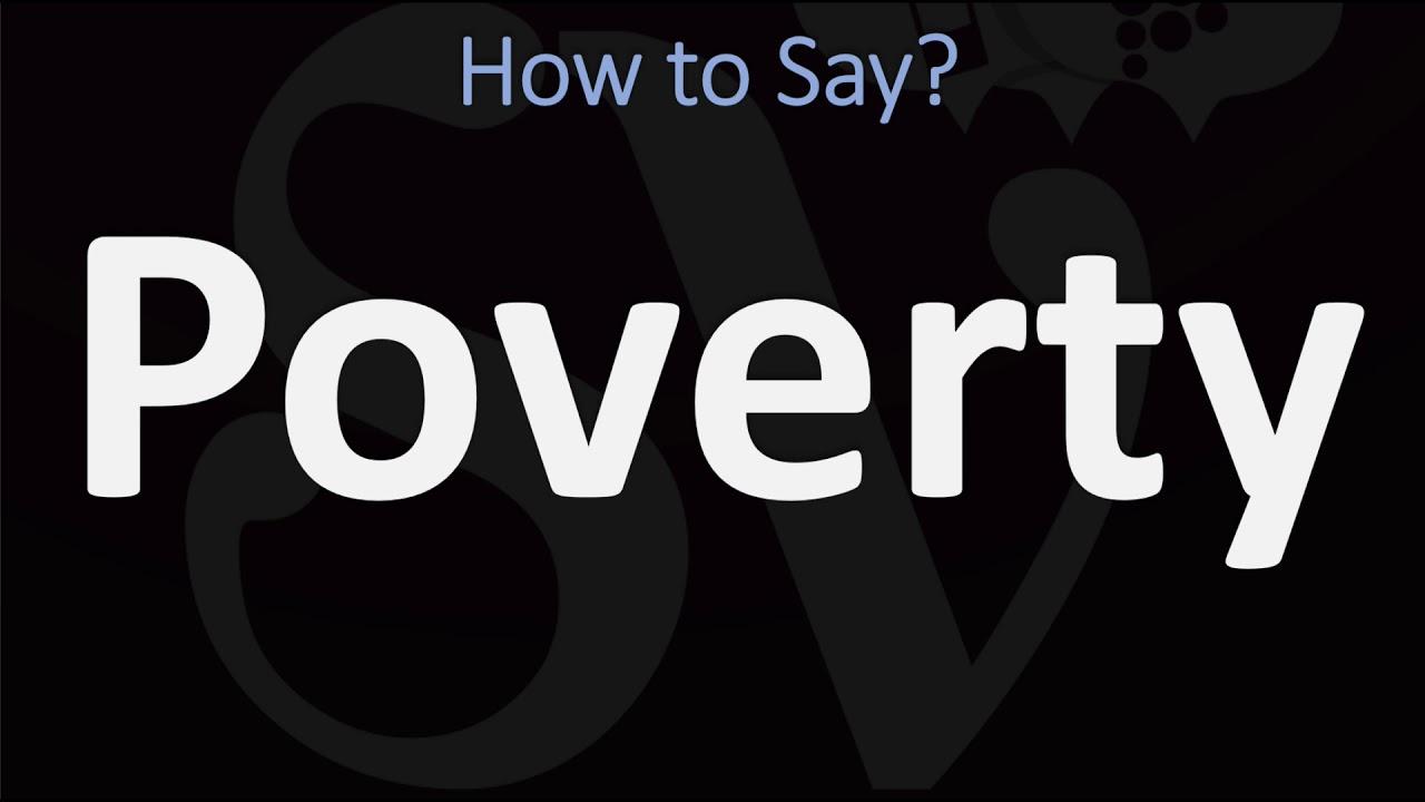 How to Pronounce Poverty? (11 WAYS!) British Vs US/American English  Pronunciation