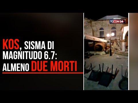 Grecia, terremoto nell'isola di Kos: almeno due morti