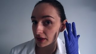 Binaural Ear Cleaning & Ear Check Up Role Play ~ Medical ASMR & Sleep Inducing Apointment