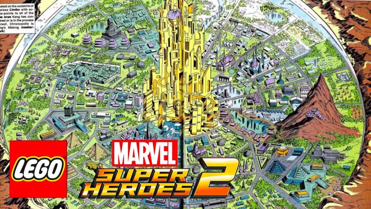 LEGO Marvel Superheroes 2 Open World Area News! - YouTube