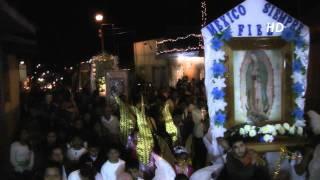 Las procesiones de Diciembre en Coscomatepec