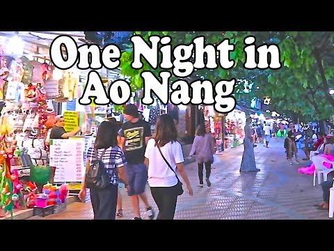 Ao Nang Guide – One Night in Krabi Thailand. Ao Nang Tips and Nightlife.