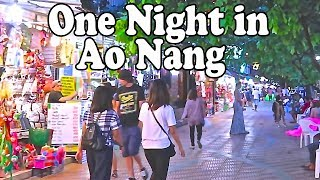 Ao Nang Guide – One Night in Krabi Thailand. Ao Nang Tips and Nightlife.