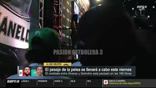 Pesaje Canelo vs GGG 2018 (canelo se enciende?
