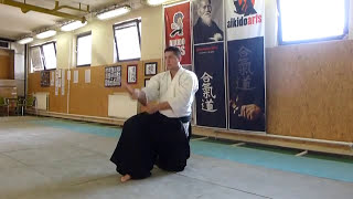 zagi suburi hanmi [TUTORIAL] Aikido basic weapon technique