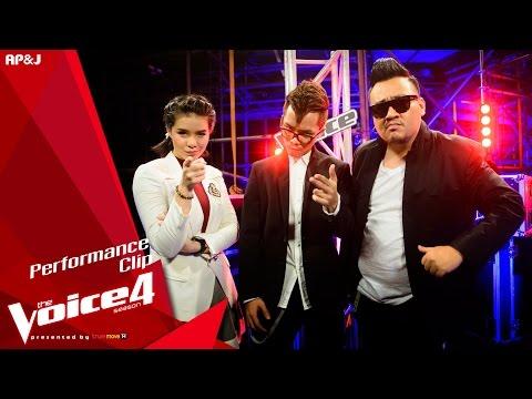The Voice Thailand - มีนตรา VS ปิงปอง&ไตเติ้ล - คนธรรพ์รำพัน - 25 Oct 2015