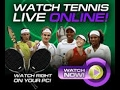 Live Johnson S (Usa) VS Smyczek T (Usa)ATP  SINGLES: Memphis (USA) hard (indoor) 2017