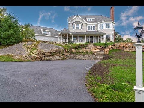 Custom Hilltop Shingle Style Home in Manchester, Massachusetts
