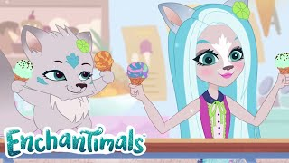 Enchantimals 🌈 Tales From Everwilde: Tale of the Always Frozen Ice Cream 💜Cartoons for Kids