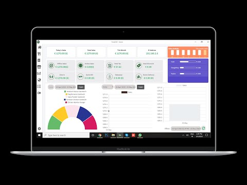 Free Restaurant Billing Software & Online Orders Management POS(Zomato,  Swiggy, FoodPanda, UberEats)