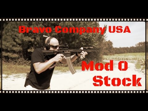 Bravo Company USA (BCM) Mod 0 Gunfighter AR-15 Stock Review (HD)
