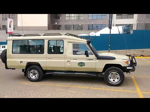 7 seater Landcruiser Safari Vehicle (Jeep) for Hire in Kenya & Tanzania with Driver