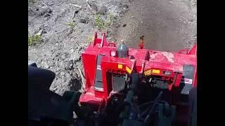 BPM 1880 Mulching Branches & Mixing the soil after land clearing