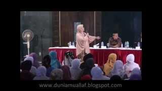 Ustadzah Hj. IRENA HANDONO (Mantan Biarawati) : Banyak Ayat Yang Mengajarkan Terorisme Dlm Injil !