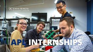 Internships at Johns Hopkins APL