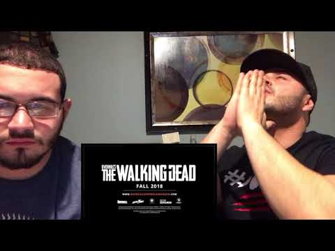 DWIDS ITS   OVERKILL'S THE WALKING DEAD Trailer REACTION VIDEO!! YOOOOO I'M HYPED thumbnail