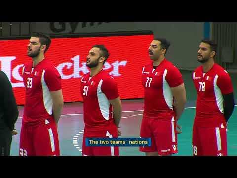 20180126 18th Asian Men's Handball Championship 2018 SAUDI ARABIA vs BAHRAIN