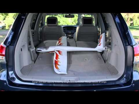 Nissan Pathfinder Cargo Area Youtube