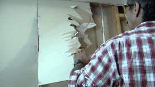 Removing Drywall Tips And Tricks For Diy And Home Remodeling And Improvement Ideas
