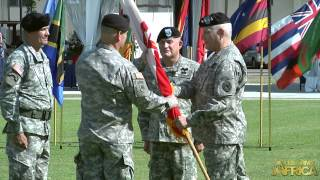 USARAF Change of Command