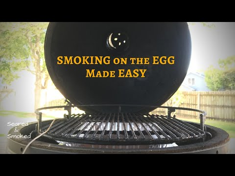 Big Green Egg SMOKING SETUP | Favorite GRILL GRATES for Smoking | Adjustable Rig & Flame Boss