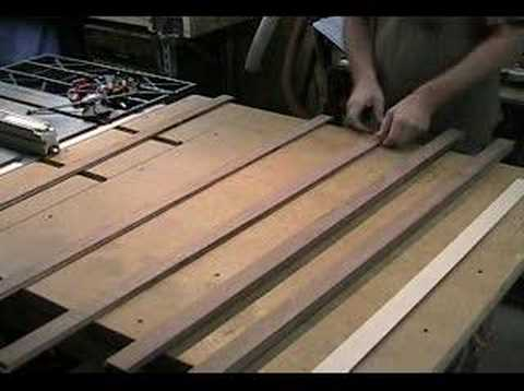 Making rockers for a rocking chair 4