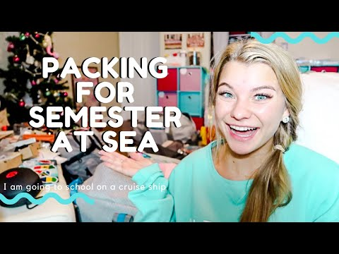 PACKING FOR SEMESTER AT SEA | School on a Ship - Spring 2020