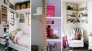 10 Storage Ideas For Small Spaces Bedroom