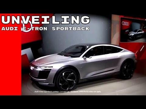Audi e-tron Sportback Concept Unveiling At Shanghai
