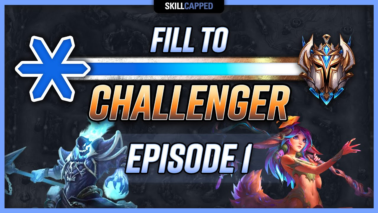 FILL TO CHALLENGER CHALLENGE: Hector Plays Lillia Jungle! (Full Gameplay) Skill Capped