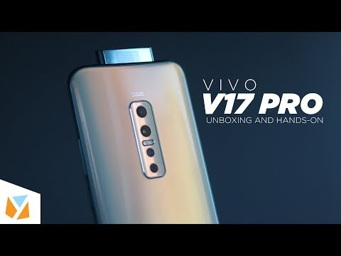 Vivo V17 Pro Unboxing & Hands-on