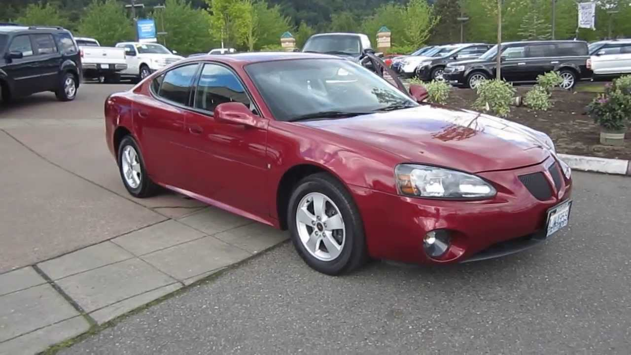 2006 pontiac grand prix burgundy stock 13 2413a youtube. Black Bedroom Furniture Sets. Home Design Ideas