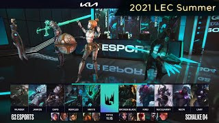 [EPIC/CF] G2 (Jankos Viego) VS S04 (Kirei Trundle) Highlights - 2021 LEC Summer W8D2