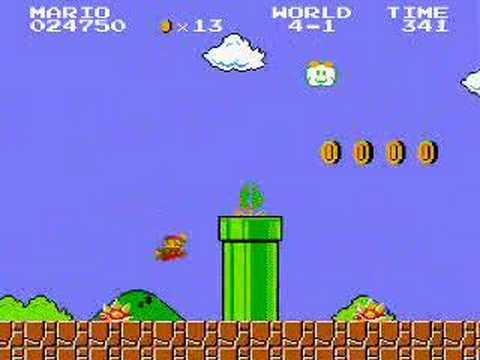 Super Mario Brothers Nintendo Entertainment System Nes Youtube