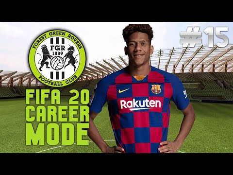 FIFA 20 FOREST GREEN CAREER MODE #15 LIVE STREAM 🔴