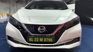 Nissan Leaf Electric car in India - Kerala EV Expo 2019