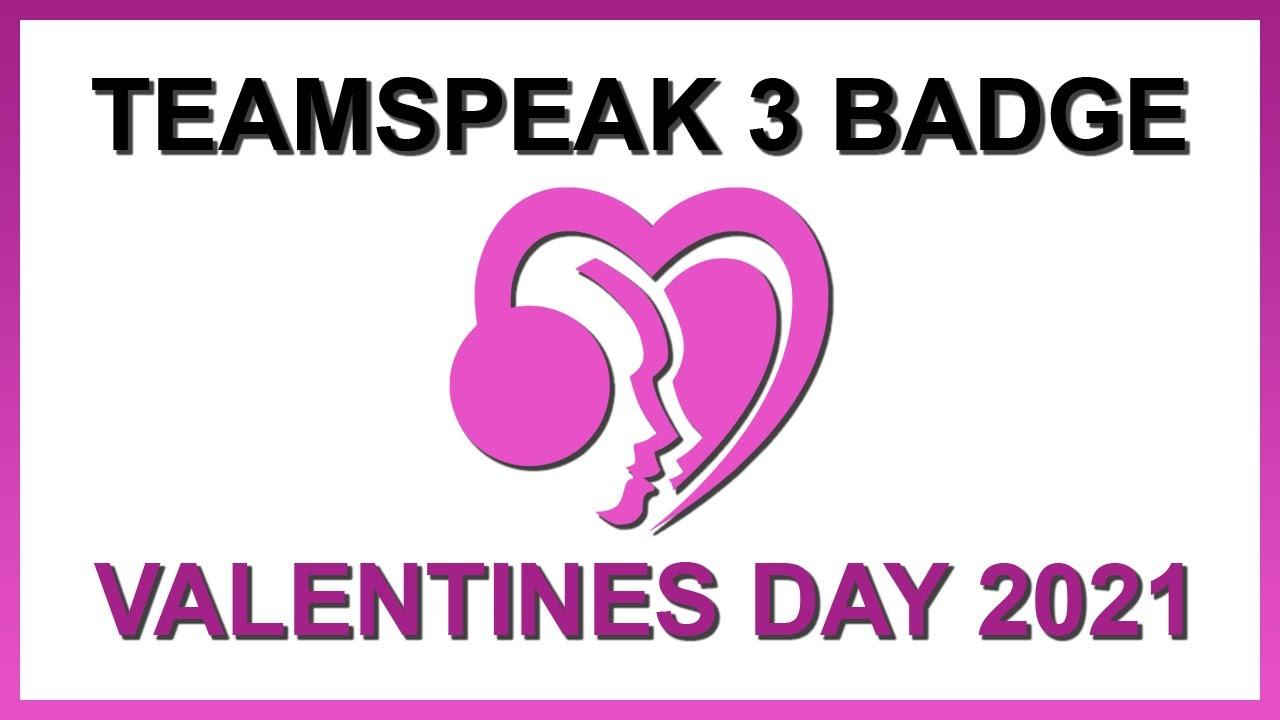 Valentines Day 15   Teamspeak 15 Badge Code NEW
