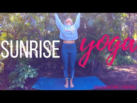 SUNRISE YOGA (20 min yoga) Morning Yoga Practice