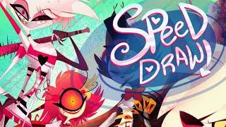 SPEED DRAW- Demon Suicide Squad- VivziePop