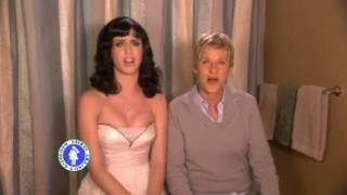 "Katy Perry ft. Ellen Degeneres ""I Kissed a Girl"""