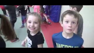 École St-Pierre : Activité wushu avec les 1ere année