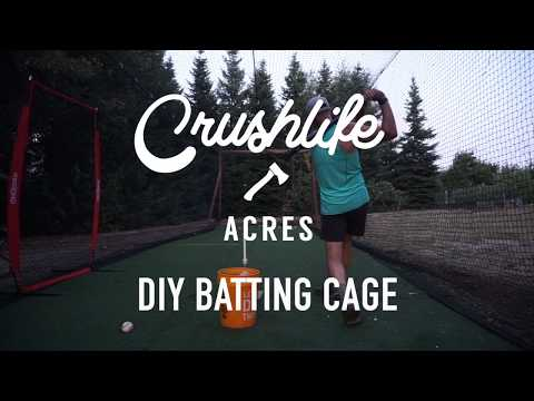 Top Notch DIY Batting Cage