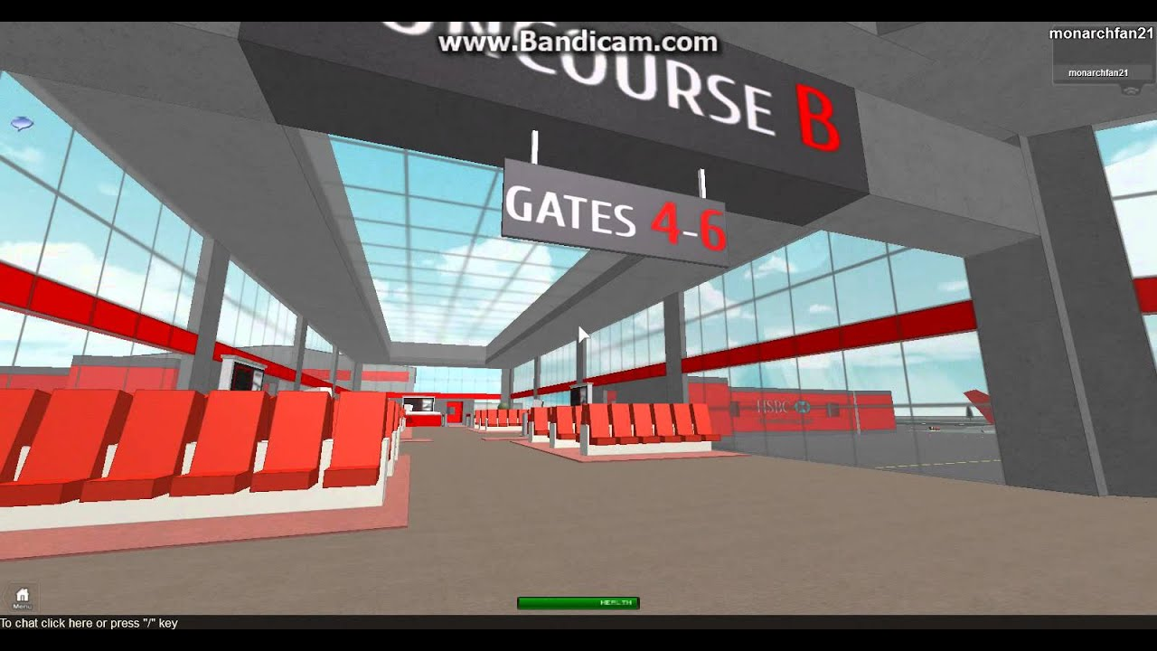 How to make a airport in roblox