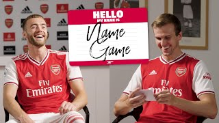 NAME GAME | Episode 3 | Calum Chambers and Rob Holding