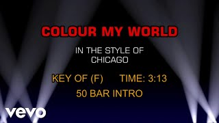 Скачать Chicago Colour My World Karaoke